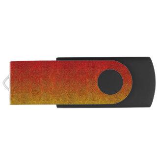 Falln Flame Glitter Gradient Swivel USB 3.0 Flash Drive