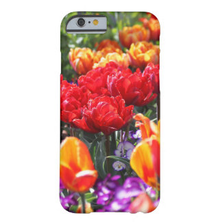 Falln Floral Crimson Waves Barely There iPhone 6 Case