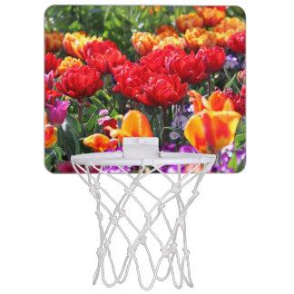 Falln Floral Crimson Waves Mini Basketball Hoop