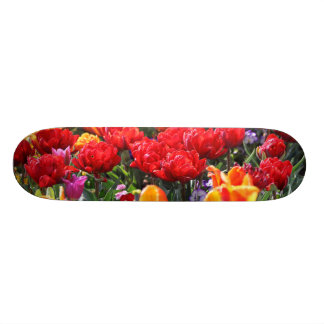 Falln Floral Crimson Waves Skateboard Decks