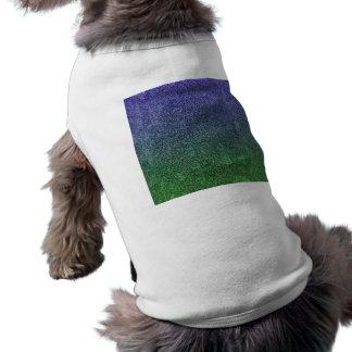 Falln Forest Nightfall Glitter Gradient Dog Tee