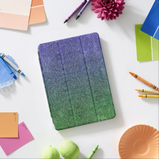 Falln Forest Nightfall Glitter Gradient iPad Air Cover