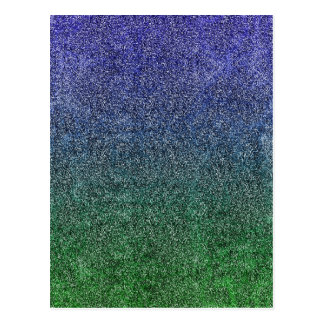 Falln Forest Nightfall Glitter Gradient Postcard