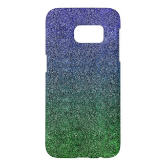 Falln Forest Nightfall Glitter Gradient Samsung Galaxy S7 Case