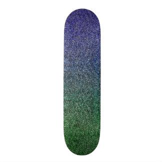 Falln Forest Nightfall Glitter Gradient Skate Board Decks