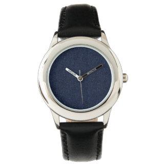 Falln Galaxy in Stone Wrist Watch