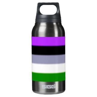 Falln Genderqueer Pride Flag Insulated Water Bottle