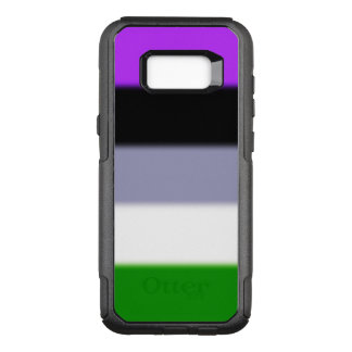 Falln Genderqueer Pride Flag OtterBox Commuter Samsung Galaxy S8+ Case