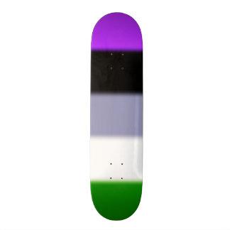 Falln Genderqueer Pride Flag Skate Board Deck