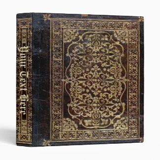Falln Gilded Leather Tome Book Vinyl Binder
