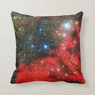 Falln Gold Dusted Galaxy Throw Pillow