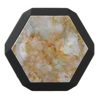 Falln Gold Rippled Marble Black Bluetooth Speaker