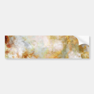 Falln Gold Rippled Marble Bumper Sticker