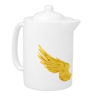 Falln Golden Angel Wings