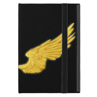Falln Golden Angel Wings Cover For iPad Mini