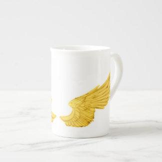 Falln Golden Angel Wings Tea Cup