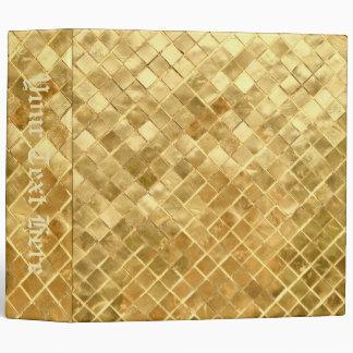 Falln Golden Checkerboard Binders