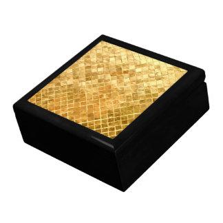 Falln Golden Checkerboard Gift Box