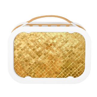 Falln Golden Checkerboard Lunch Box
