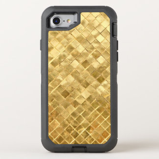 Falln Golden Checkerboard OtterBox Defender iPhone 8/7 Case
