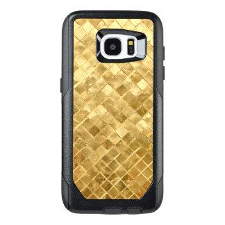 Falln Golden Checkerboard OtterBox Samsung Galaxy S7 Edge Case