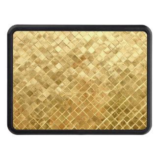 Falln Golden Checkerboard Trailer Hitch Cover