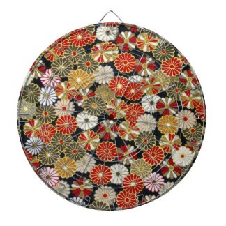 Falln Golden Chrysanthemums Dartboards