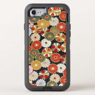 Falln Golden Chrysanthemums OtterBox Defender iPhone 8/7 Case