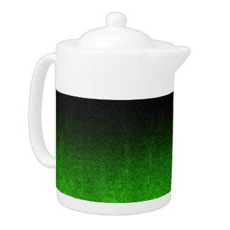 Falln Green & Black Glitter Gradient
