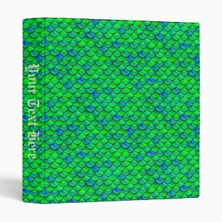 Falln Green Blue Scales Binders