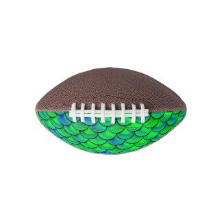 Falln Green Blue Scales Football