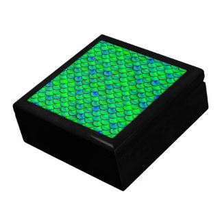 Falln Green Blue Scales Gift Box