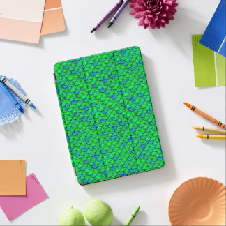 Falln Green Blue Scales iPad Air Cover