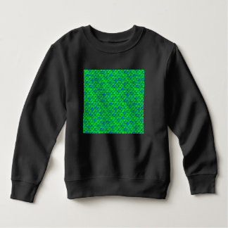 Falln Green Blue Scales Sweatshirt