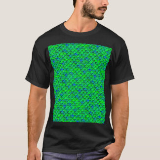 Falln Green Blue Scales T-Shirt