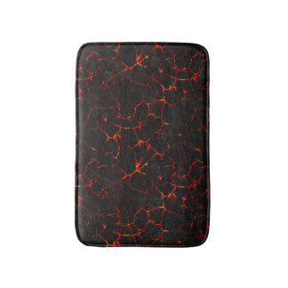 Falln Hot Lava Bath Mat