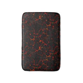 Falln Hot Lava Bathroom Mat