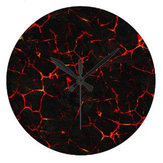 Falln Hot Lava Clock