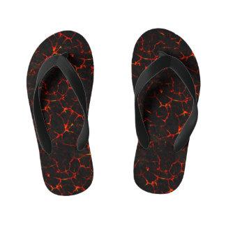 Falln Hot Lava Kid's Flip Flops