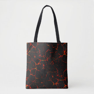 Falln Hot Lava Tote Bag