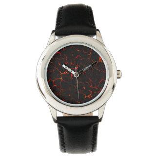 Falln Hot Lava Wrist Watch