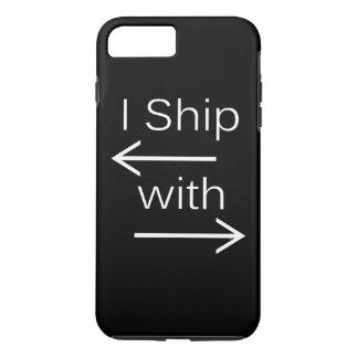 Falln I Ship It (You Choose Background Color!) 2 iPhone 7 Plus Case
