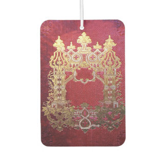 Falln Ink Stained Crimson Car Air Freshener