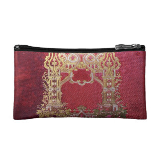 Falln Ink Stained Crimson Cosmetic Bag