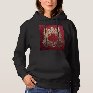 Falln Ink Stained Crimson Hoodie