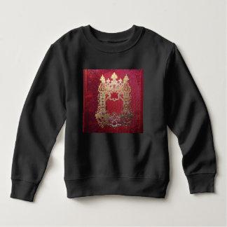 Falln Ink Stained Crimson Sweatshirt