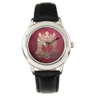 Falln Ink Stained Crimson Watch