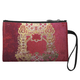 Falln Ink Stained Crimson Wristlet