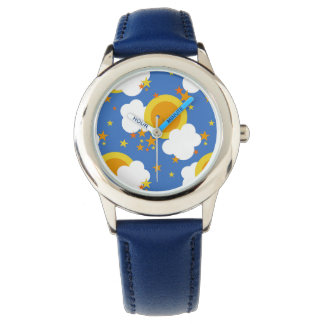 Falln Kawaii Moon, Stars, Sunshine Wrist Watches