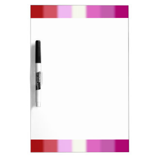 Falln Lesbian Pride Flag Dry-Erase Whiteboard